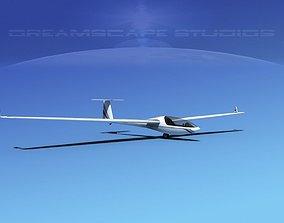 3D model Glaser-Dirks DG-300 Glider V02