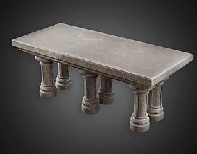 3D model Altar - MVL - PBR Game Ready