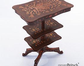 3D Side etagere - Holland 1840 - Georg Britsch