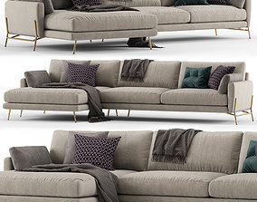 Le Marais sofa - Calligaris 3D model