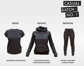 3D model Casual Clothing Batch 1