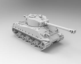 Sherman tank 3D printable model
