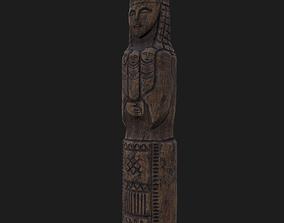 Lada Statue 3D asset
