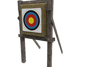 Target 3D model low-poly