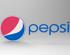 pepsi logo 3D model