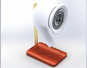 Speaker Desktop Enclosure 3D print model