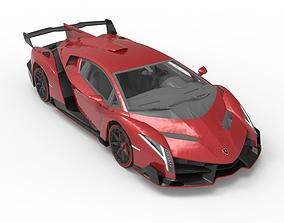 2013 Lamborghini - Veneno 3D wheel
