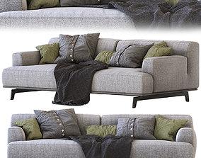 Poliform Sofa Tribeca 3D