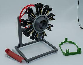 Scale Engine for E-Flite AT-6 Basic Kit 3D printable model