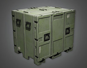 MLT - Military Crate Container - PBR Game Ready 3D model
