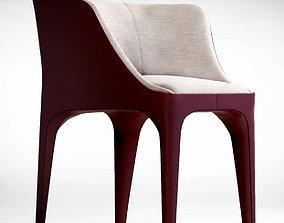 Giorgetti Diana armchair 3D model