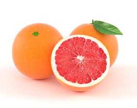 grapefruit Grapefruit 3D model