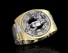 horse in Rolex-ring 3D print model