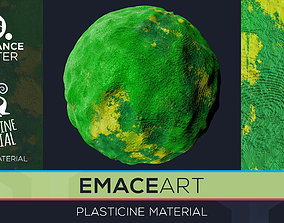 PBR Plasticine Material 7 Substance Unity Material 3D