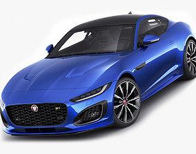 3D Jaguar F-Type 2020