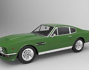 Aston Martin V8 Vantage 1977 car 3D