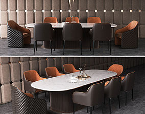 3D model Dining group Daytona by Signorini Coco