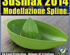 3ds max 2014 Modellazione Spline v 42 Italiano cd