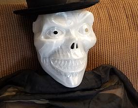 3D print model The Skeleton Ghoul Head Hatbox Mask