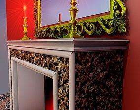 3D model Fireplace new
