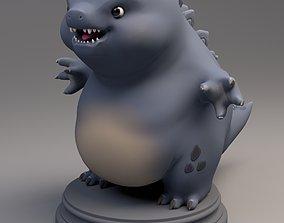 Godzilla 3D asset