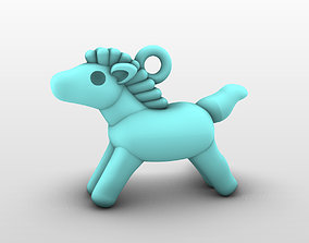 Charm Pendant - Adorable 3D printable model 4