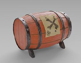 3D Gunpowder Barrel - The Sea of Thieves