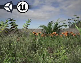 Nature Assets - Foliage Package game-ready