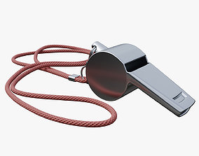 Whistle metal 3D