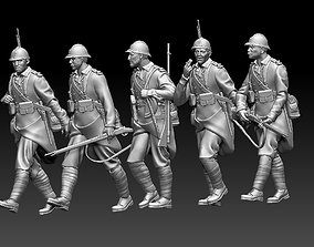 3D printable model French soldier