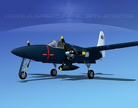 Grumman F7F Tigercat V10 3D model