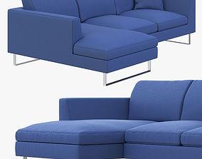 Jasper Modern Corner Sofa 3D model