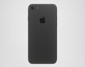 3D asset iPhone 7 - Black