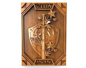 3D printable model Zelda cnc 4