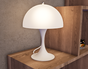 3D print model Panthella Table Lamp