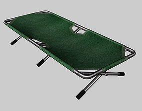 cot bed 3D asset
