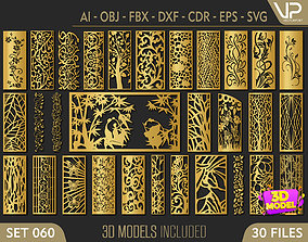 30 3D Decorative wall panels - screen SET 060
