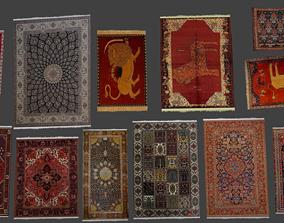 persian carpets 3D asset