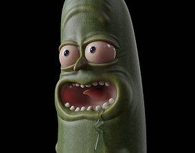 character Pickle Rick - 3D Print Model