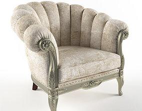 3D printable model armchair classic