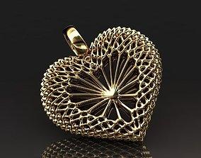 3D print model Heart pendant 007