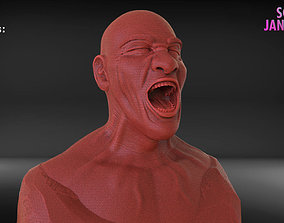 zbrush Angry Man Timelapse and Model