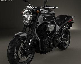 Yamaha MT-01 2009 3D model