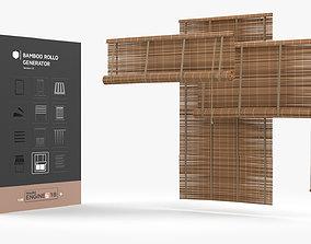 Bamboo Blind Generator 3D model