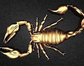 insert 3D print model Scorpion