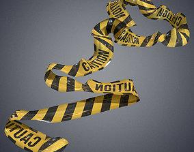 3D model Warning tapes