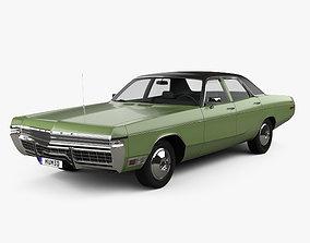 Dodge Monaco sedan 1972 3D