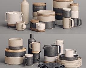 3D model Hasami Porcelain Sets