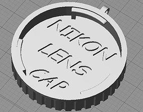 3D print model Nikon Lens Cover