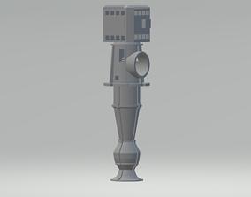 miniatures 3D printable model Vertical turbine pumps